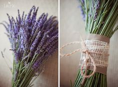 love the wrapping on the lavender