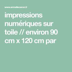 impressions numériques sur toile // environ 90 cm x 120 cm par