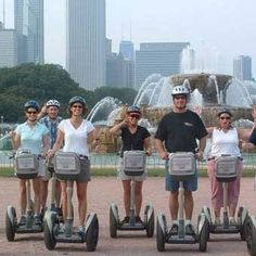 Downtown Segway Tour in Chicago at Cloud 9 Living Gifts Chicago Attractions, Chicago Tours, Visit Chicago, Chicago City, Chicago Style, Chicago Neighborhoods, 30th Birthday Ideas For Women, Experience Gifts, My Kind Of Town