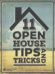 Real estate agents: Put a gleaming face on your listing with these simple 11 open house tips! #RealEstate