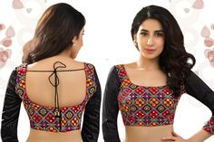 41 Trendy Types of Saree Blouse Designs Patterns Blouse Designs High Neck, Netted Blouse Designs, Patch Work Blouse Designs, Simple Blouse Designs, Stylish Blouse Design, Bridal Blouse Designs, Saree Blouse Designs, Designer Blouse Patterns, Stitching