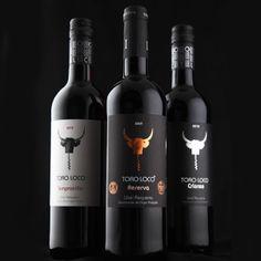 A linha dos vinhos tintos Toro Loco que conquistaram o Brasil e vão surpreender você. #wine #vinho #ToroLoco #vinhotinto #Espanha