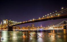 Ort: Brooklyn Bridge (New York) by JensLiebscher