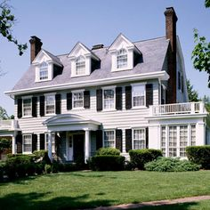 Incorporating Period Architecture Exteriors Colonial Style HomesColonial House PlansModern