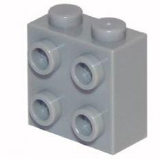 3 ~ Blue 2x5 Elevation Change Bricks ~ New Lego Parts ~