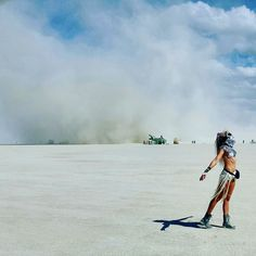 The quiet before the storm. Burning Man 2015. Featuring the Menthu Scale Chest Piece by SeraphimSin.Etsy.com