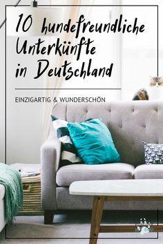 Zehn großartige Unterkünfte für Hundebesitzer und Vierbeiner, quer in Deutschland verteilt, einzigartig und vielseitig. Hier die Top Ten von Airbnb, zusammengestellt von Roadtrip mit Hund!