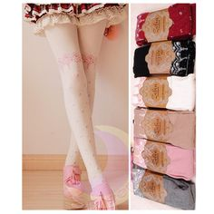[3 For 2] 7 Colors Winter Soft Mulberry Silk Cotton Tights SP130258