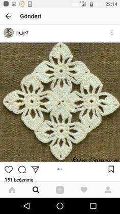 Beautiful brand new large flowers white crochet table runner made from a very thin 100 mercerized cotton thread size 15 will salvabrani – Artofit Poncho Crochet, Crochet Granny, Crochet Motif, Crochet Designs, Crochet Doilies, Crochet Flowers, Hand Crochet, Crochet Stitches, Double Crochet