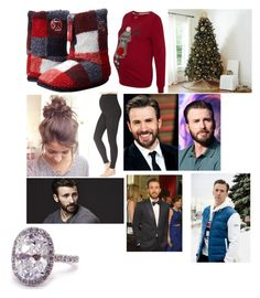 """""""Alpa King Cerberus: Christmas Day With Cerberus"""" by stormhawks98 ❤ liked on Polyvore featuring George, Bedroom Athletics and Ballard Designs"""