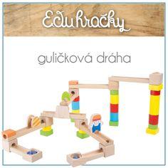 Základná drevená guličková dráha pozostáva z viac ako 35 rôznych farebných dielikov. Dieťa si postaví dráhu podľa svojej fantázie a o zábavu na dlhý čas je postarané. Deti fascinuje kotúľajúca sa guľôčka po dráhe, ktorú sami vyhotovili.