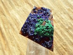 raw azurite malachite jewelry supplies collectors stone asymmetric gemstone plain cabochon rare crystal by ARTEAMANOetsy on Etsy Geode Rocks, Malachite Jewelry, Rare Crystal, Azurite Malachite, Throat Chakra, Jewelry Supplies, Green Colors, Jewelry Making, Sparkle