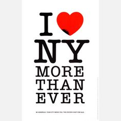 I Love NY More Than Ever Print now featured on Fab.