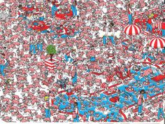 The land of Woofs, Where's Wally?