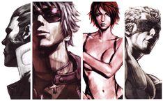 King of Fighters: Maxima, K', Vanessa & Ramon