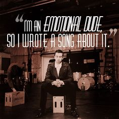 "Twenty One Pilots haha.He's talking about hpw is car radio actually did get stolen out of his car. So... him being an ""emotional dude"", he therefore wrote a song about it."