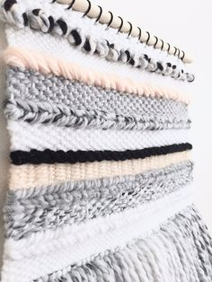 Woven Wall Hanging Pastel Woven Wall Hanging / by WOOLPLUSWOOD