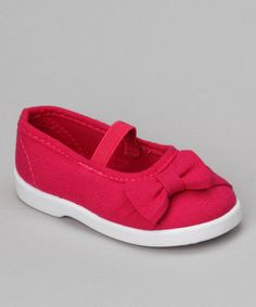 Take a look at this Fuchsia Cutie Flat on zulily today!