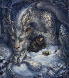 art, digital art, dragon, dragons, fantasy - inspiring picture on Favim.com