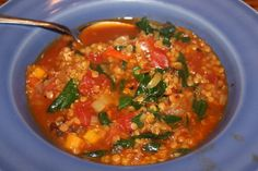 BABY RED LENTIL & KALE CHILI