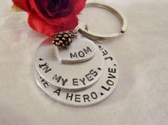 A personal favorite from my Etsy shop https://www.etsy.com/listing/205347051/mother-of-the-bride-hand-stamped-silver