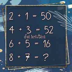 Math Quizzes, Mind Puzzles, Maths, Chalkboard Quotes, Art Quotes, Mindfulness, Blue, Consciousness