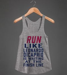 run leo | Racerback Tank | Front