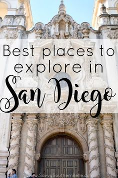 Exploring San Diego | Things to do in San Diego | Spring break in San Diego | Kid Friendly activities in San Diego