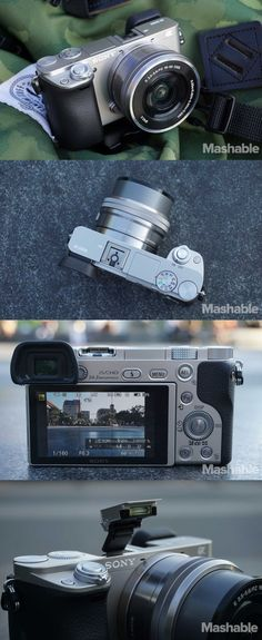 Sony A6000 mirrorless camera.