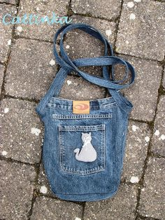 cute little jean bag