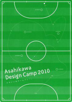 Japanese Poster: Ashikawa Design Camp. 2010 - Gurafiku: Japanese Graphic Design