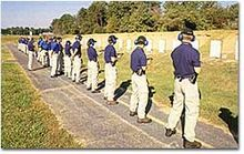 Potential Agents on the FBI Fireing Range - Federal Bureau of Investigation - Wikipedia Law Enforcement Careers, Marine Bases, Police Officer Requirements, Federal Bureau, Future Jobs, Quantico Va, Investigations, Dolores Park, Firearms