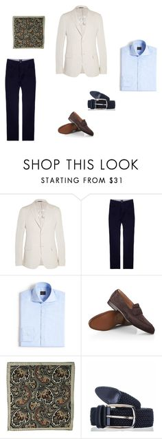 """Men's Sartorial Summer Dressing #2"" by blackcouk ❤ liked on Polyvore featuring Calvin Klein Collection, BOSS Black, Eidos, summerstyle, menswear and accessories"