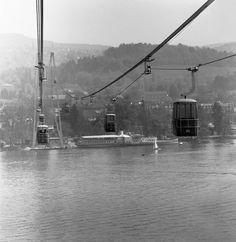 Als man mit dem Gondeli über den Zürichsee schwebte