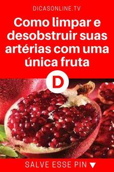 Arterias tapadas | Como limpar e desobstruir suas artérias com uma única fruta | Estudo publicado nos Estados Unidos revelou que esta fruta tem a capacidade de desobstruir por completo as artérias. E, por essa e outras pesquisas, ela já é considerada um dos mais poderosos preventivos de doenças do coração. Saiba mais!
