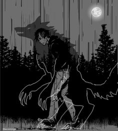 It turned out to be a werewolf... what a surprise
