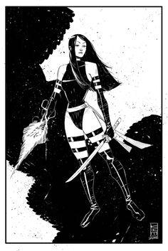 Psylocke by Kim Jacinto