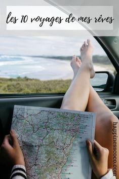 Les 10 voyages de mes rêves | #voyage #travel #lifestyle