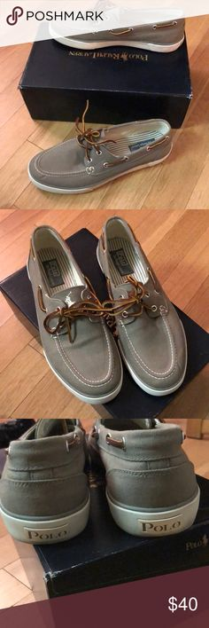 Ralph Lauren boat shoes Ralph Lauren boat shoes. Men's size 10. Laced. Only