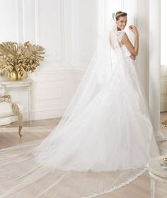 5 claves para un look de novia tradicional