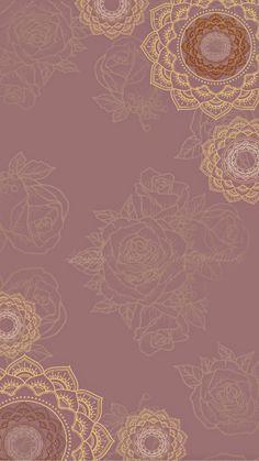 Mandala Wallpaper, Blue Marble Wallpaper, Flower Background Wallpaper, Framed Wallpaper, Islamic Wallpaper, Flower Backgrounds, Background Patterns, Wallpaper Backgrounds, Mandala Art