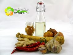 naturalny antybiotyk przepis jak zrobic chrzan cebula czosnek imbir kurkuma chili ocet jablkowy domowa receptura naturalnienaturalnipl