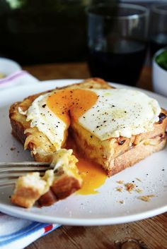 Croque Madame #abreakfastfoodie