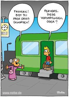 Bahn wirkt. /by @ralphruthe, via @phil_aich bei Twitter #Eisenbahn Bahn #Zug #Fortbewegung #Mobilitaet