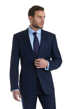 Italian Collection Regular Fit 2 Piece Pindot Suit Blue http://www.tailormader.com/italian-collection-regular-fit-2-piece-pindot-suit-blue.html