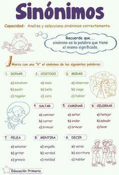 Verbal Reasoning: Synonyms for child Elementary Spanish, Ap Spanish, Spanish Grammar, Spanish Vocabulary, Spanish Language Learning, Spanish Teacher, Bilingual Classroom, Bilingual Education, Classroom Language