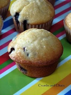Basic Muffin Mix with a list of add ins to use