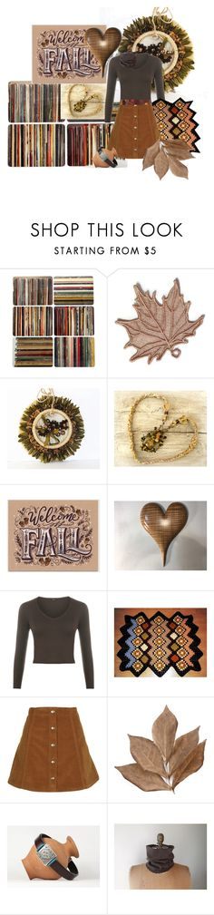 """""""Welcome Fall"""" by alidishu ❤ liked on Polyvore featuring interior, interiors, interior design, home, home decor, interior decorating, Ella Doran, WearAll, Topshop and Bliss Studio"""