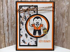 Peanuts and Peppers Papercrafting: Make It Monday - Stampin' Up! Halloween Cards, Holidays Halloween, Halloween Themes, Halloween Projects, Fall Cards, Holiday Cards, Christmas Cards, Stampin Up Cookie Cutter, Halloween Cookie Cutters