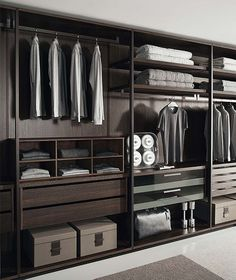 Fabulous Walk-In Closets to Make your Bedroom Interior More Organized | Discover more: http://masterbedroomideas.eu/